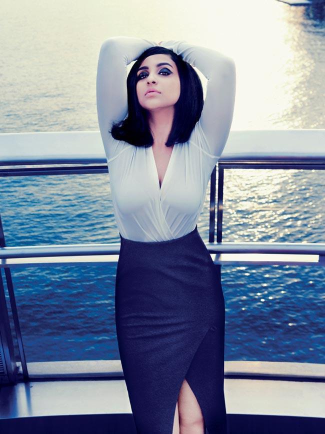 Parineeti  on The Harpers Bazaar July 2012 Issue Magazine