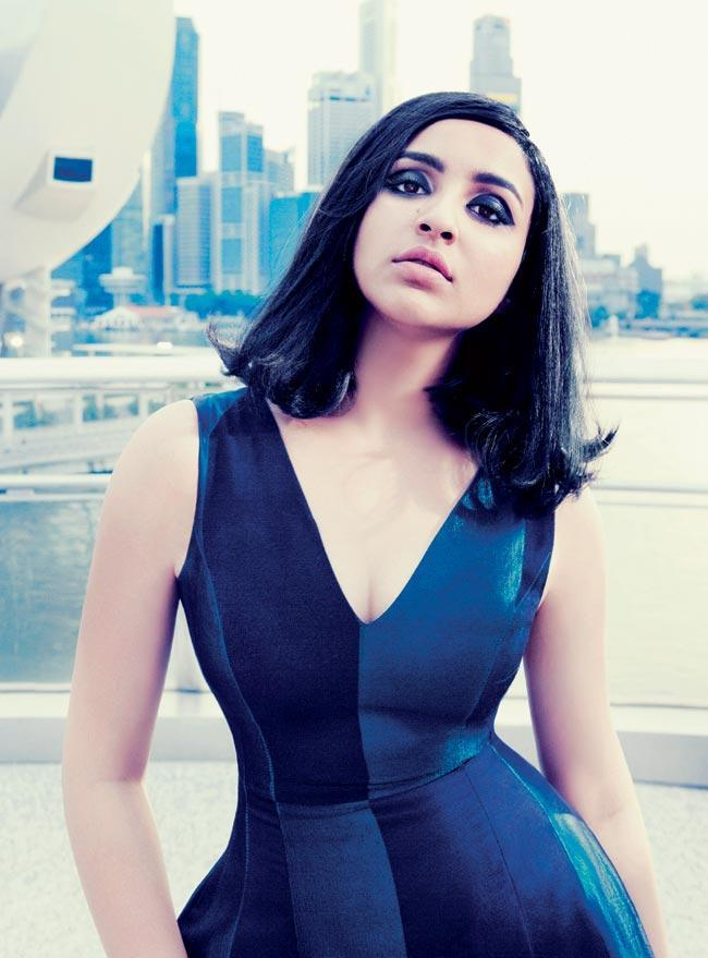 Parineeti Sizzling Sexy Pose Photo Shoot For Harpers Bazaar