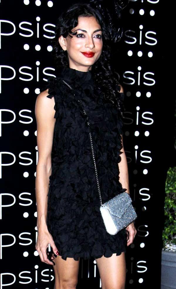 Akansha Nanda Short Black Dress Still at Grand Opening Of Ellipsis Restaurant