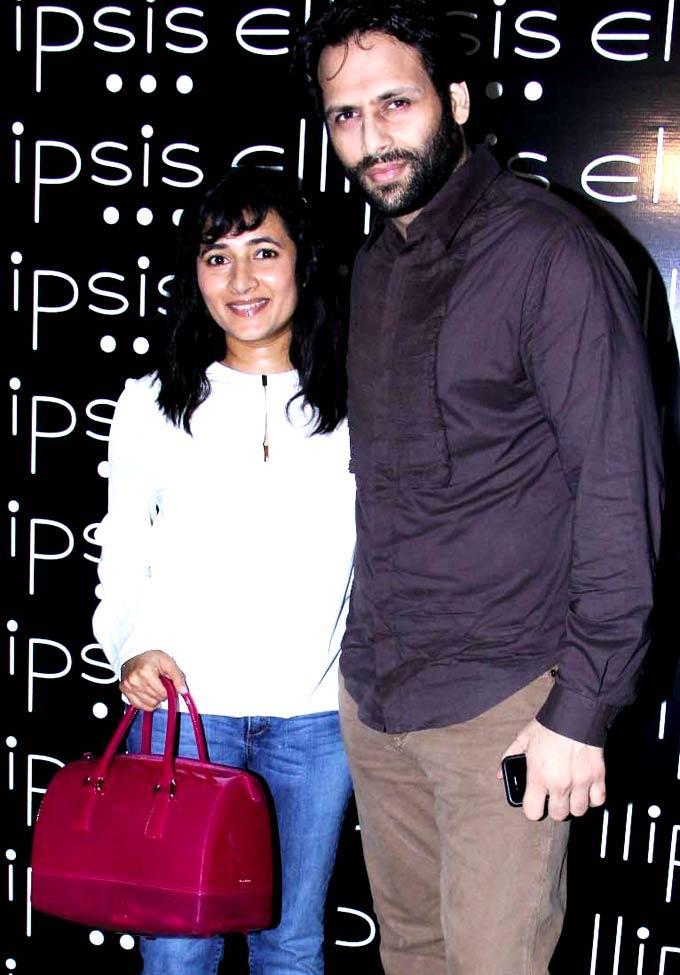 Bikram Saluja and Schauna Chauhan at Opening Of Ellipsis Restaurant