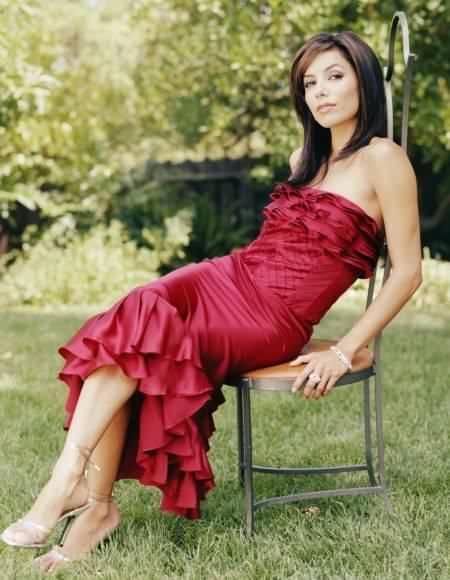 Eva Longoria In Red Dress Spicy Still