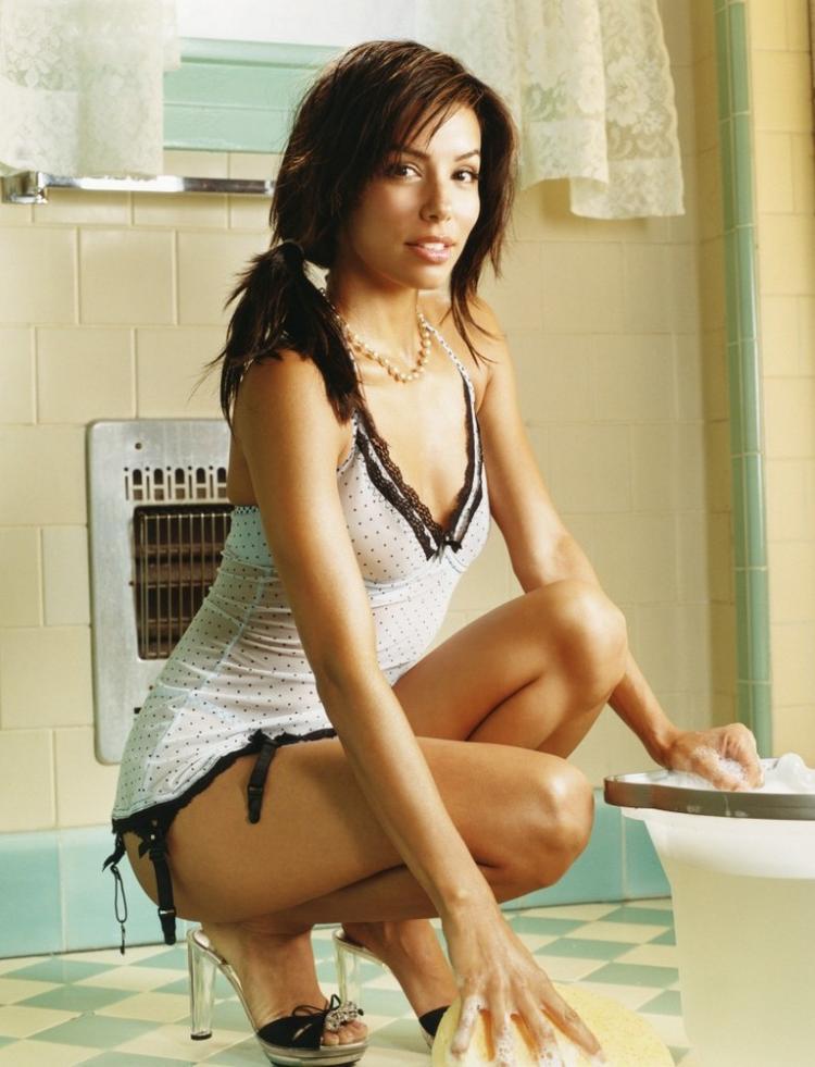 Eva Longoria Sexy Pose Photo Shoot