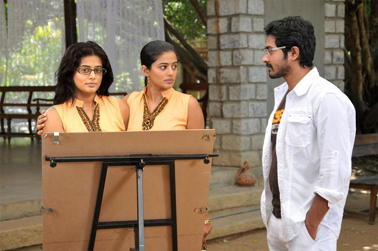 Priyamani Plays The Role of Conjoined Twins in Charulatha