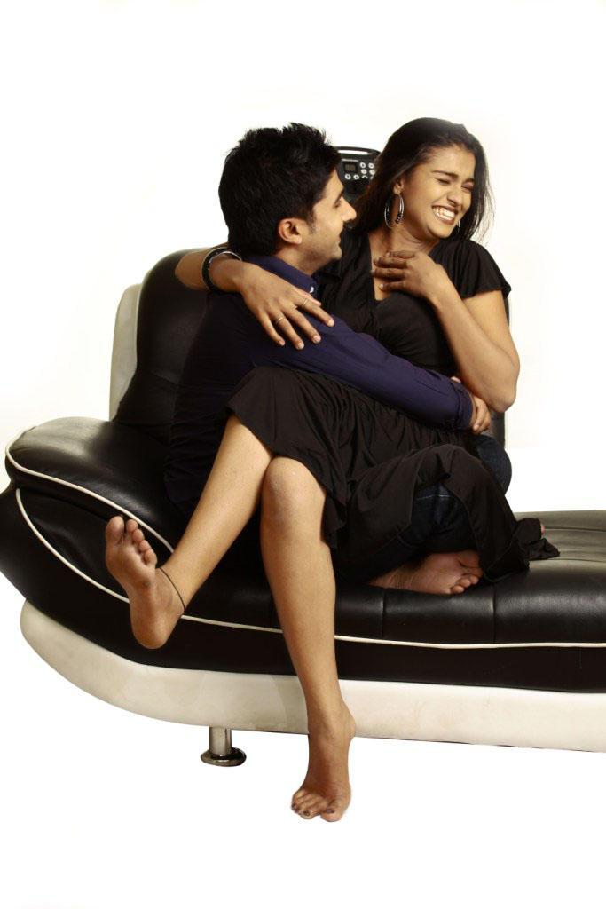 Prakruthi and Viraat Vellanki Cute Sexy Still In Good Morning