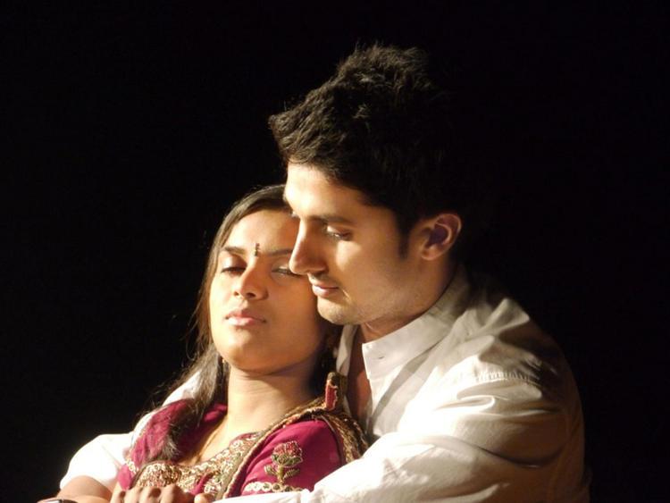 Prakruthi and Viraat Vellanki In Good Morning Movie Still