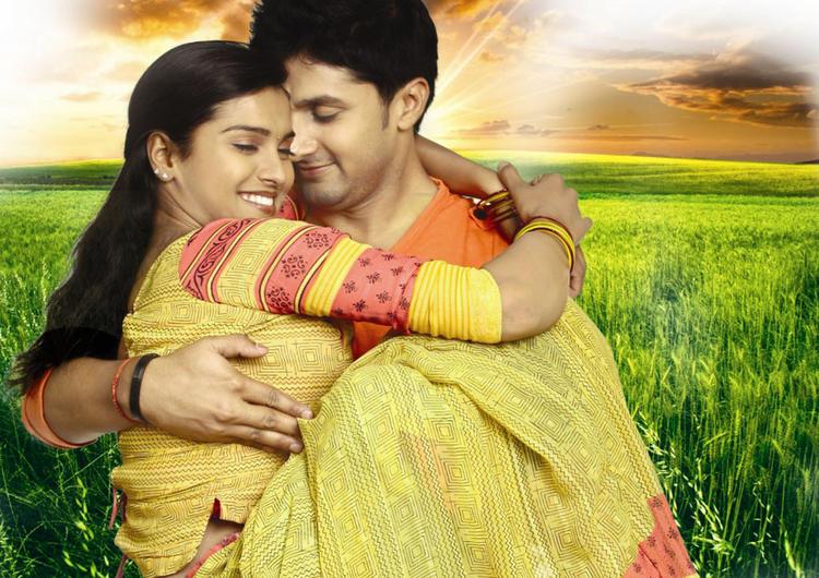 Prakruthi and Viraat Vellanki Sexy Still In Good Morning Movie
