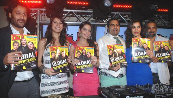 Celebs at DJ Magazine Launch in F Bar