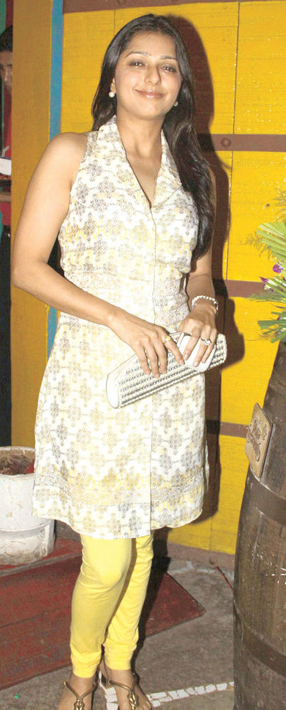 Bhumika Chawla At Kailash Kher's Birthday Party