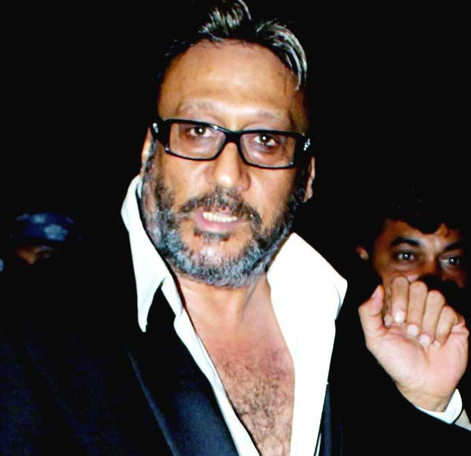 Jackie Shroff Spotted at Viveck Vaswani 50th Birthday Bash