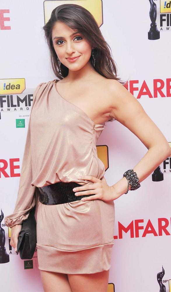 Aarti Chhabria Sexy Pose at 59th Filmfare South Awards
