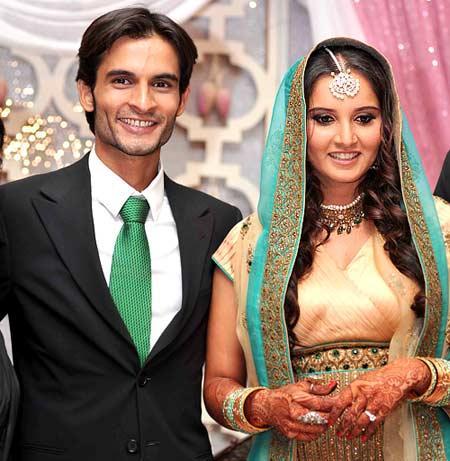 Sania Mirza and Sohrab Engagement Still