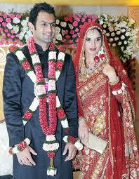 Shoaib Malik and Sania Wedding Still