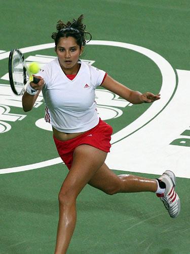Tennis Star Sania Mirza Still