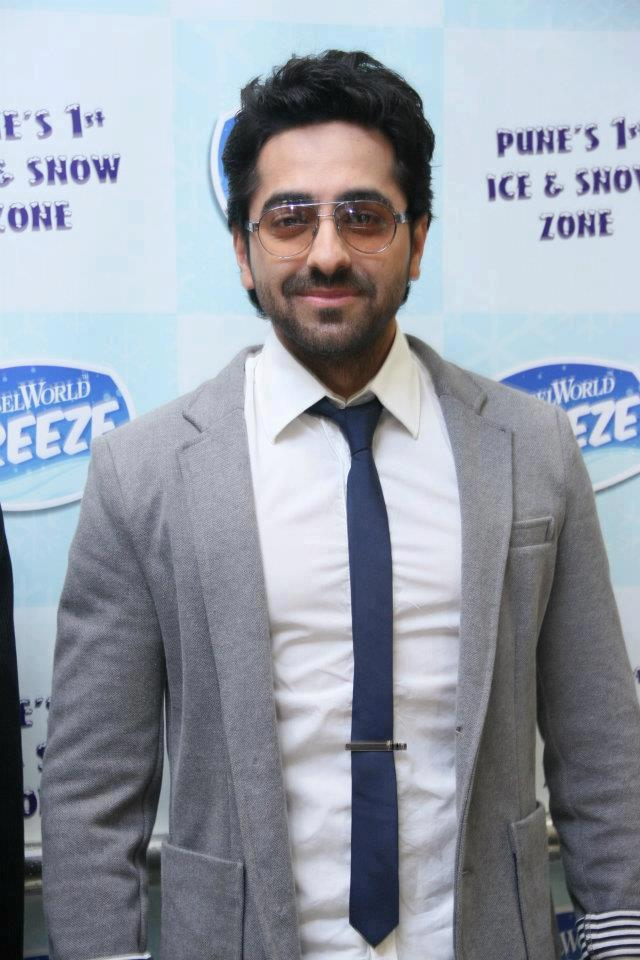Ayushman Khurana At Essel World FREEZE Opening