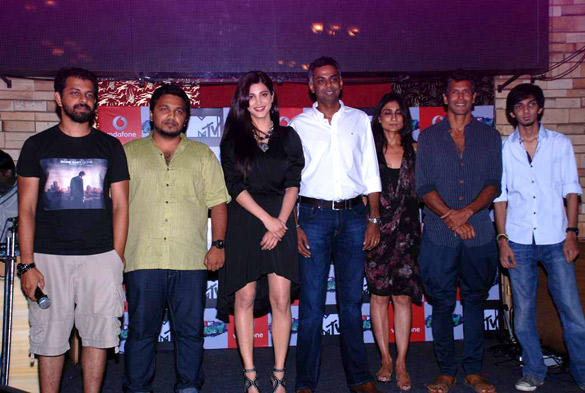 Celebs Poses During The Press Meet of MTV New Show Rush