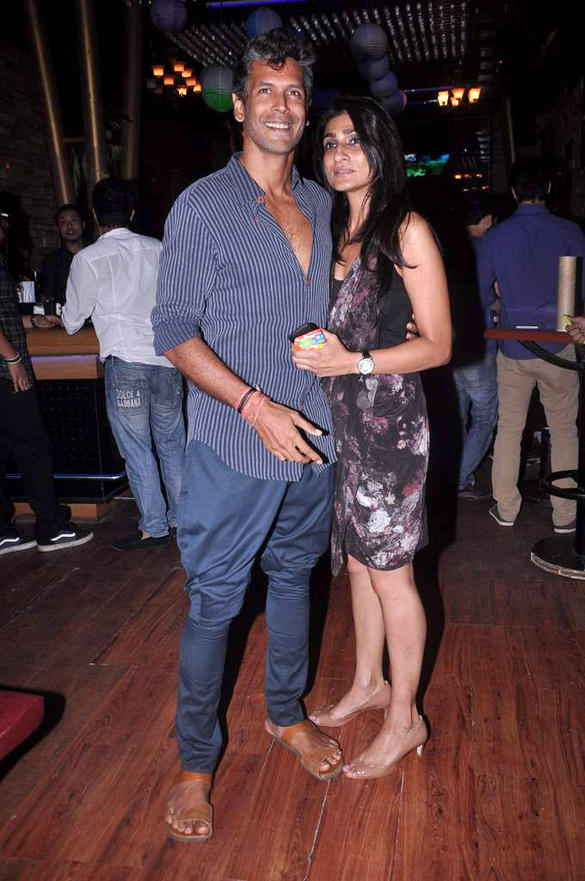 Milind Soman at MTV Launch New Show Rush Press Meet In Red Ant Cafe