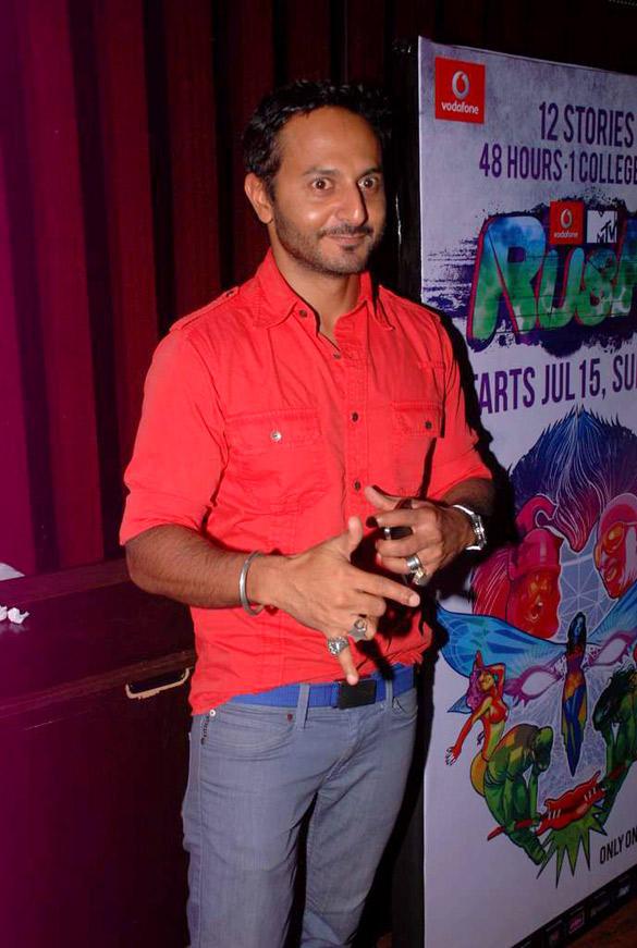 Nikhil Chinappa During The Press Meet of MTV New Show Rush