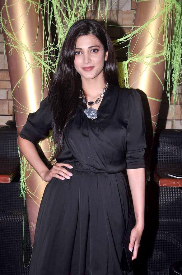 Shruti Looking Beautiful at MTV Popular Show Rush Press Meet