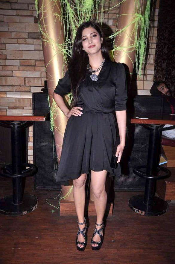 Shruti at MTV Launch New Show Rush Press Meet In Red Ant Cafe
