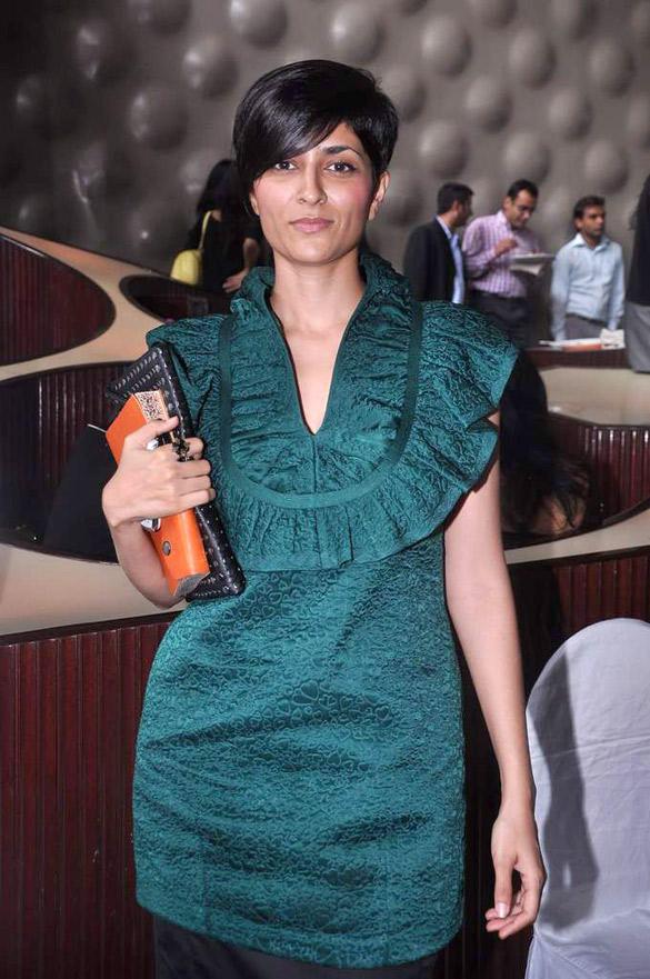 Drashta Sarvaiya at Lakme Fashion Week 2012 Press Meet