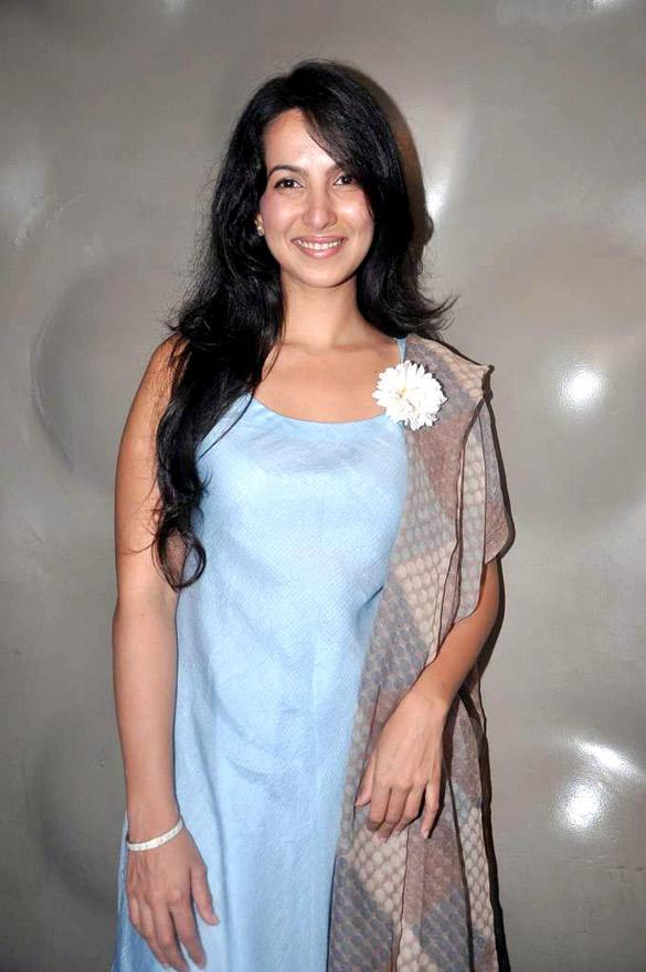 Shraddha Nigam at Lakme Fashion Week 2012 Press Meet