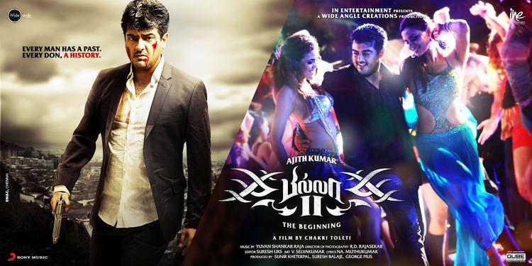 Ajith Kumar Angry Look Poster