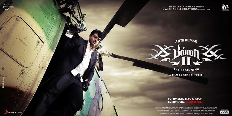 Ajith Kumar Billa 2 Movie Stylist Poster