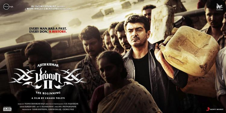 Style Icon Ajith Kumar In Billa 2 Film Poster