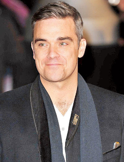 Robbie Williams is Expecting a Baby With Wife Ayda Fields