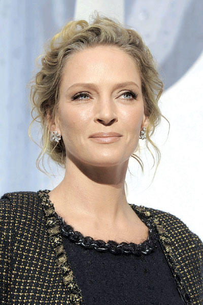 Uma Thurman Expecting a Third Child With Arpad Busson,But She Has Two Children with Ex Ethan Hawke