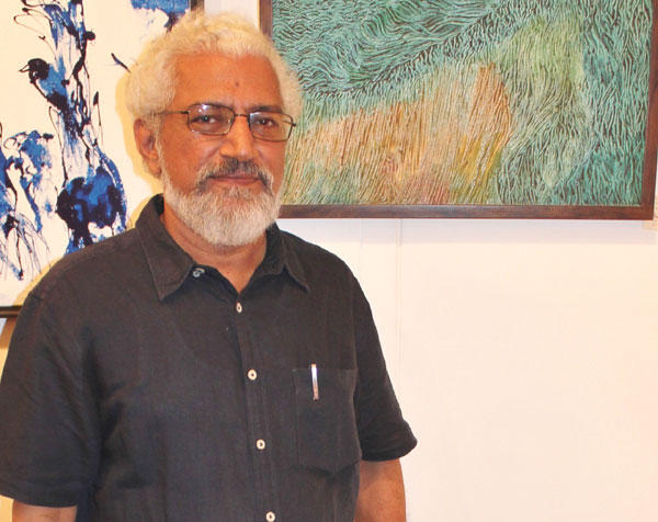 Prakash Bal Joshi at 13th Annual Artist Exhibition