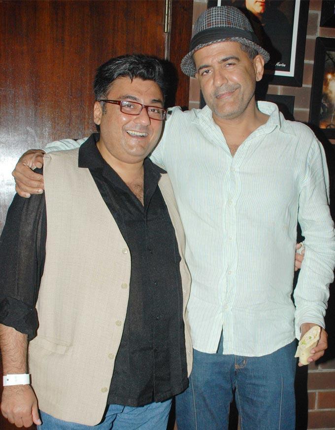 Fahad Samar and Ad Singh at Ash Chandler's New Play Premier