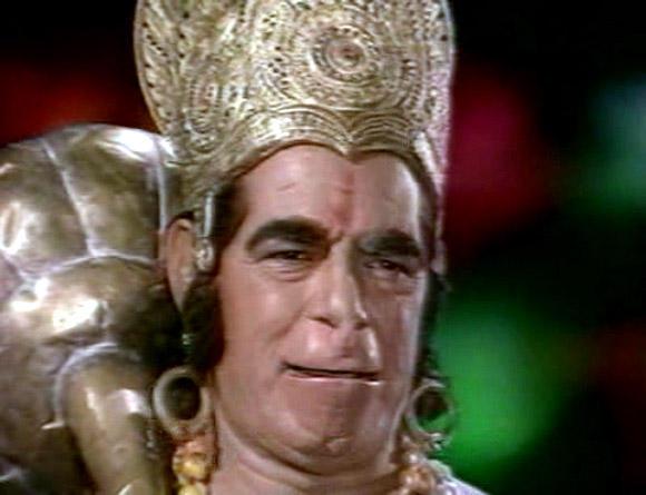 Dara Singh Hanuman Still in Iconic Show Ramayan
