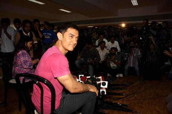 Aamir at Indian Famous Reality Show Satyamev Jayate Press Conference