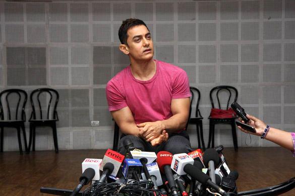 Aamir at Satyamev Jayate Press Conference