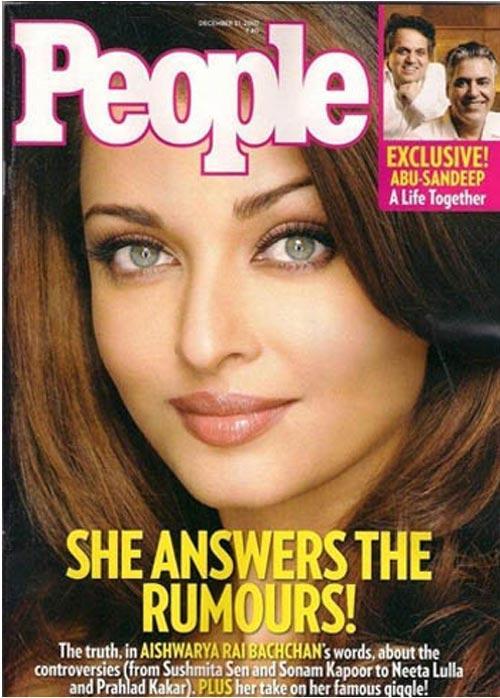Aishwarya Rai People Magazine Pic