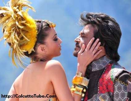 Endhiran The Robot Rajanikanth with Aishwarya
