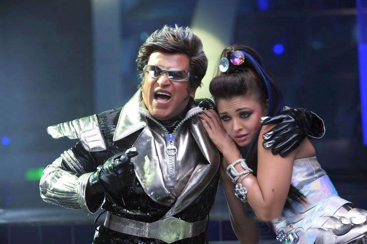 Rajini and Aishwarya Latest Still In Robot