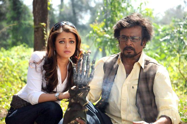 Rajini and Aishwarya Robot Movie Latest Still