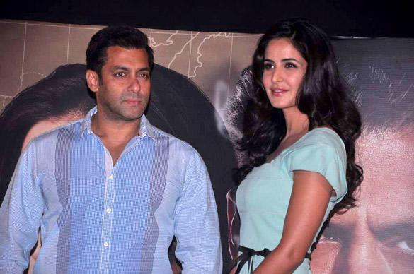 Katrina and Salman at Ek Tha Tiger Music Launch Event