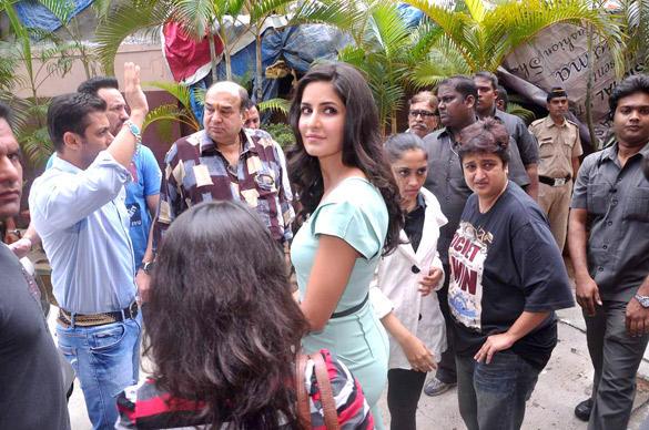 Katrina and Salman Launches Ek Tha Tiger Song Mashallah