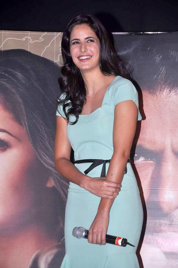Katrina Kaif at Ek Tha Tiger Song Mashallah Launch Event