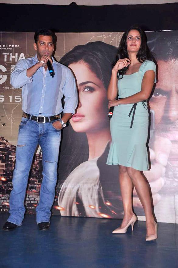 Salman and Katrina at Ek Tha Tiger Song Launch Event