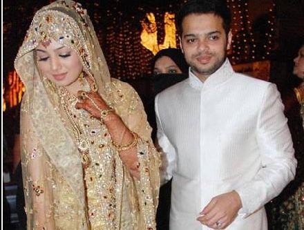 Ayesha Takia and Farhan Azmi Wedding Reception Still