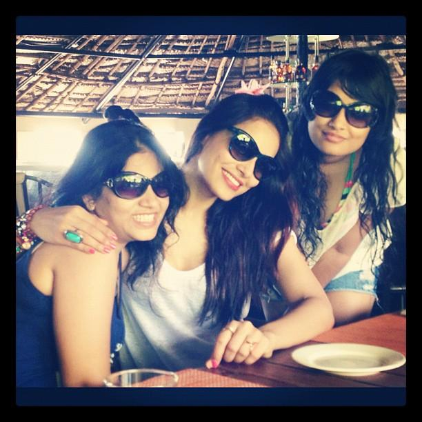 Bipasha Basu and Her Sister Hot Photos From Goa Beach