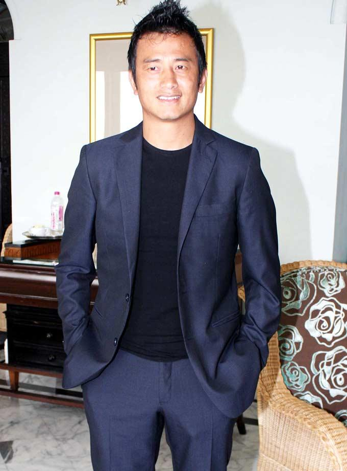 Baichung Bhutia at an Event To Create Awareness About Sports Importance In Kids Life