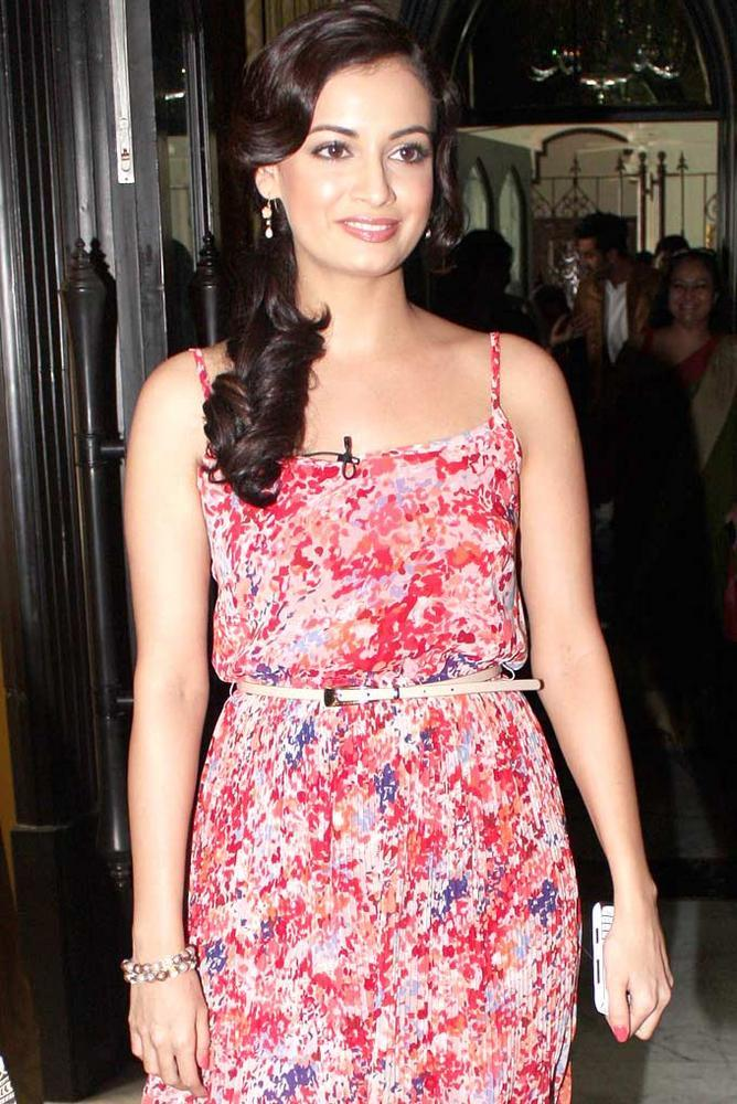 Dia Mirza Spotted To Create Awareness About Sports Importance In Kids Life