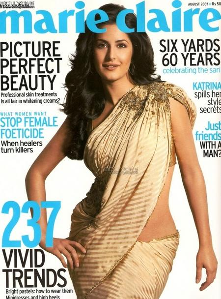 Katrina Kaif Marie Claire Cover Page Still