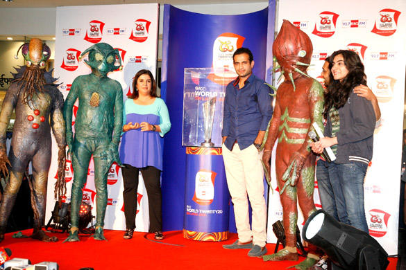 Farah Khan Promotes Joker at World Cup T 20 Trophy Launch Event