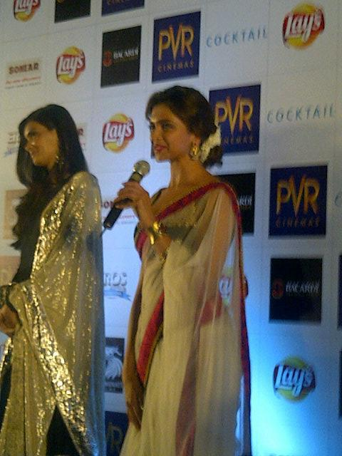 Deepika and Diana at an Event Of Cocktail